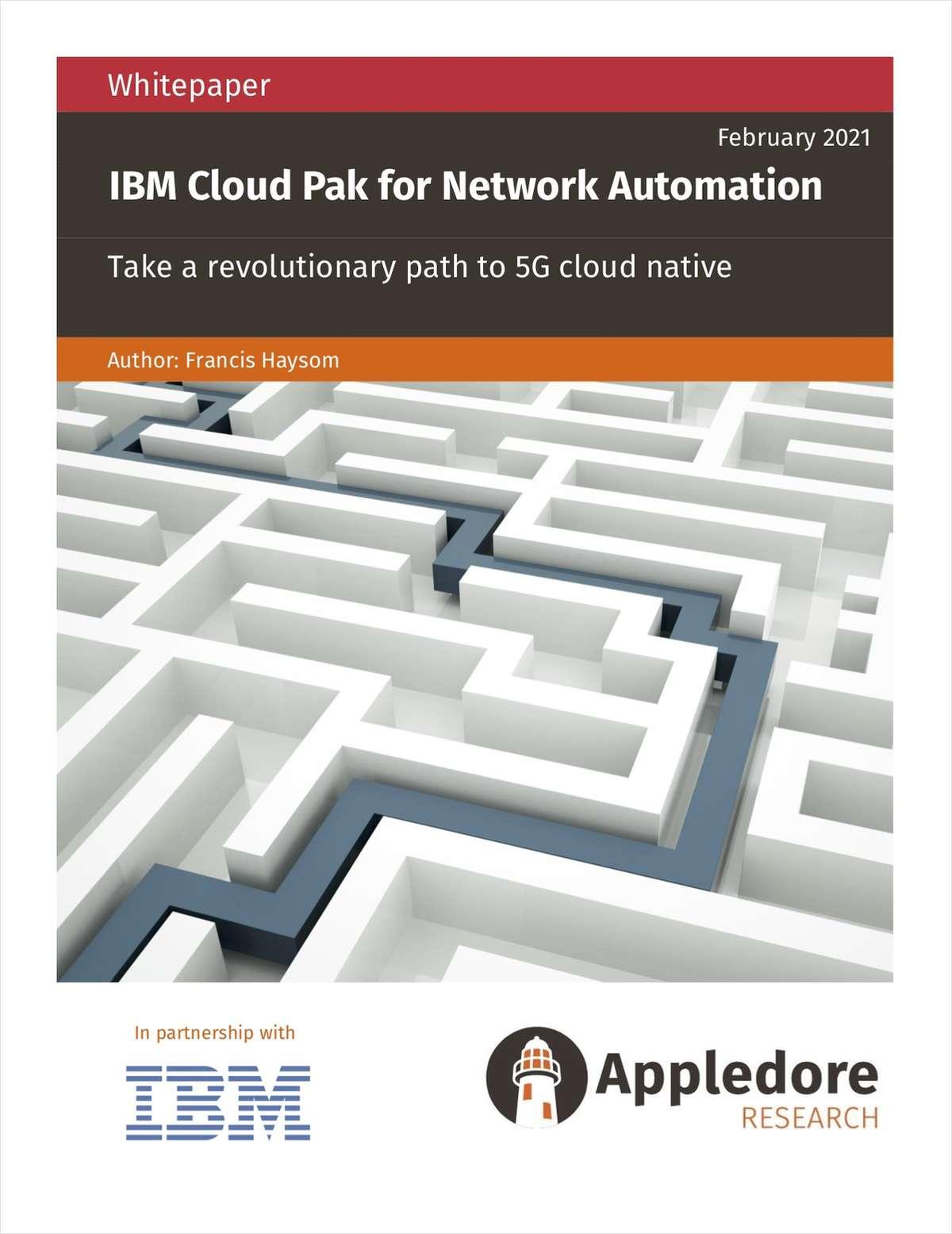 Take a revolutionary path to 5G cloud native (Appledore Whitepaper)