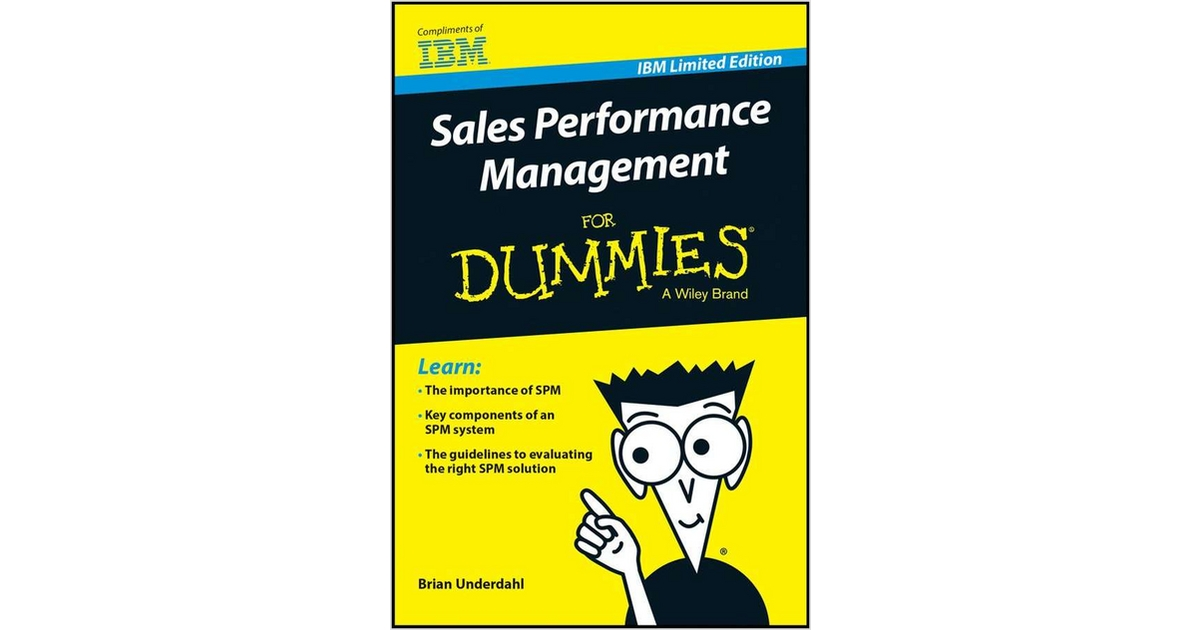 Sales Performance Management Spm For Dummies Free Ibm