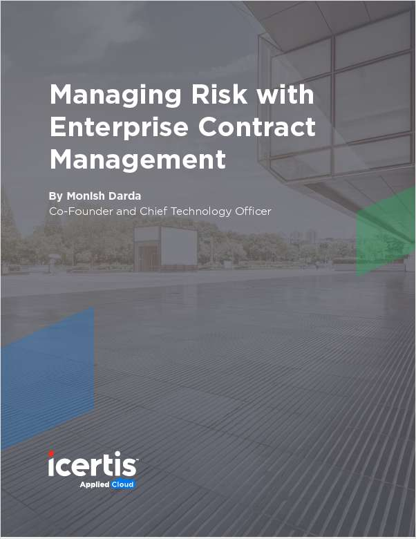 Managing Risk with Enterprise Contract Management