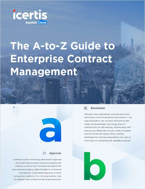 The A-Z Guide to Enterprise Contract Management