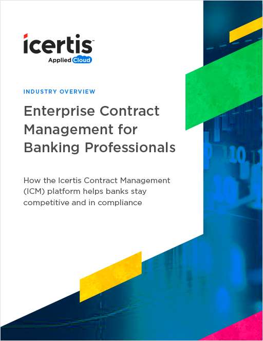 Enterprise Contract Management for Banking Professionals