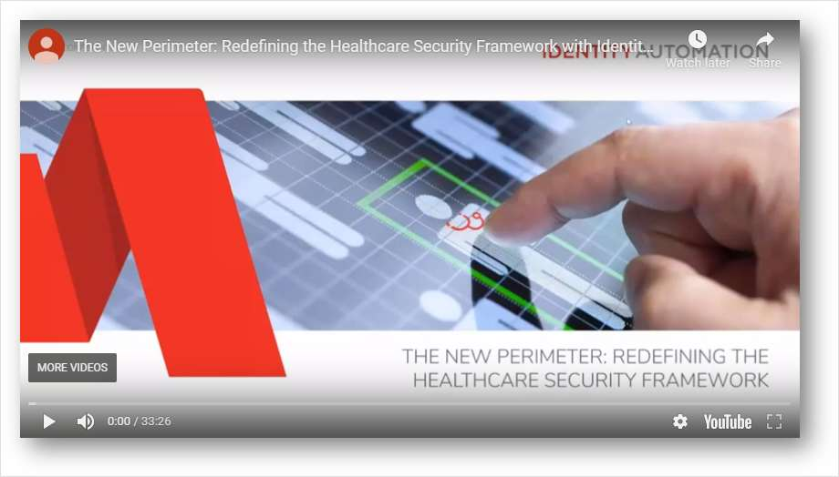 The New Perimeter: Redefining the Healthcare Security Framework with Identity and Access Management