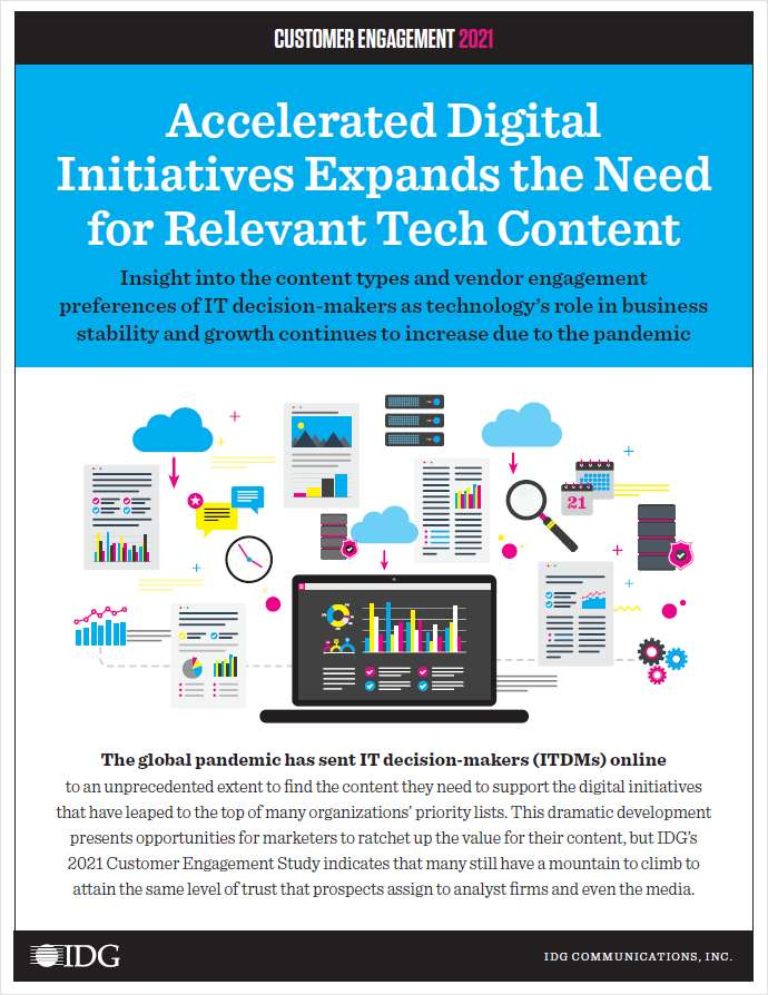 Understand the Content Consumption Trends of Tech Buyers