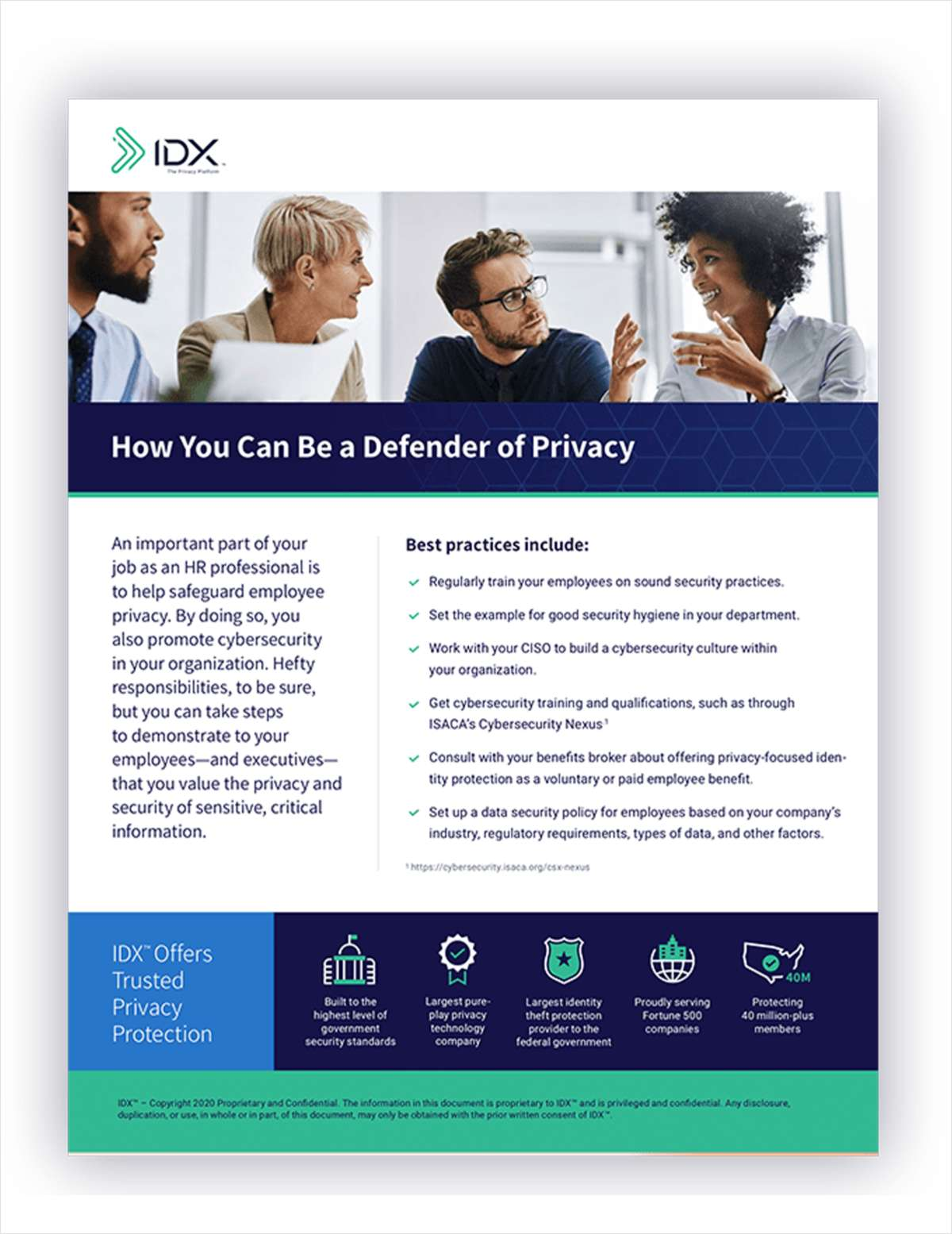 [Checklist] How HR Can Be a Defender of Privacy