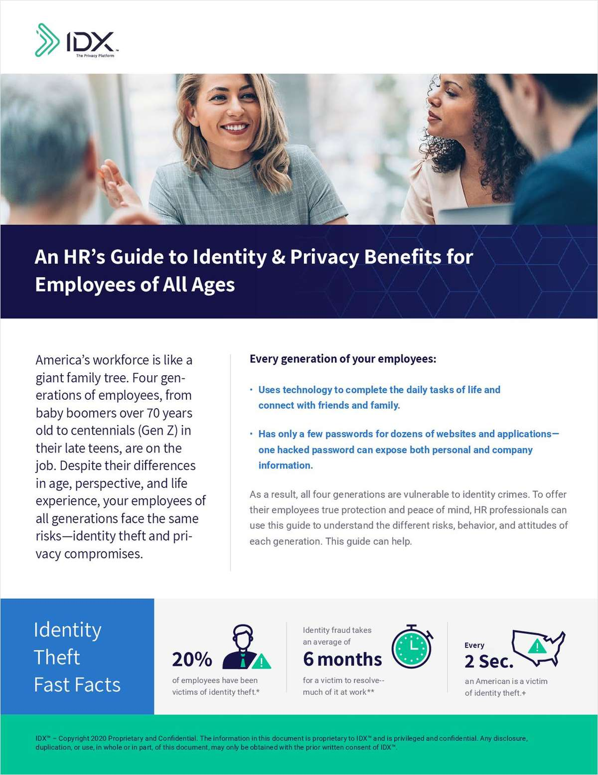 Help Your Clients With Identity & Privacy Benefits To Protect Their Employees of All Ages