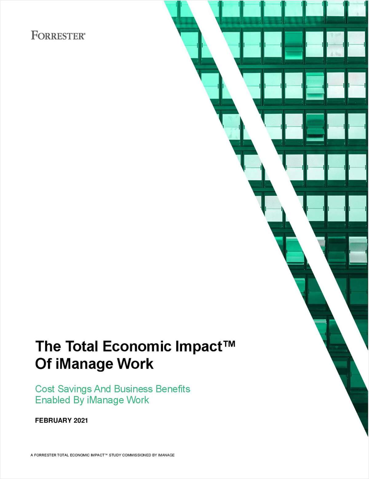 Forrester TEI Study: Building a Business Case for Modern Document Management