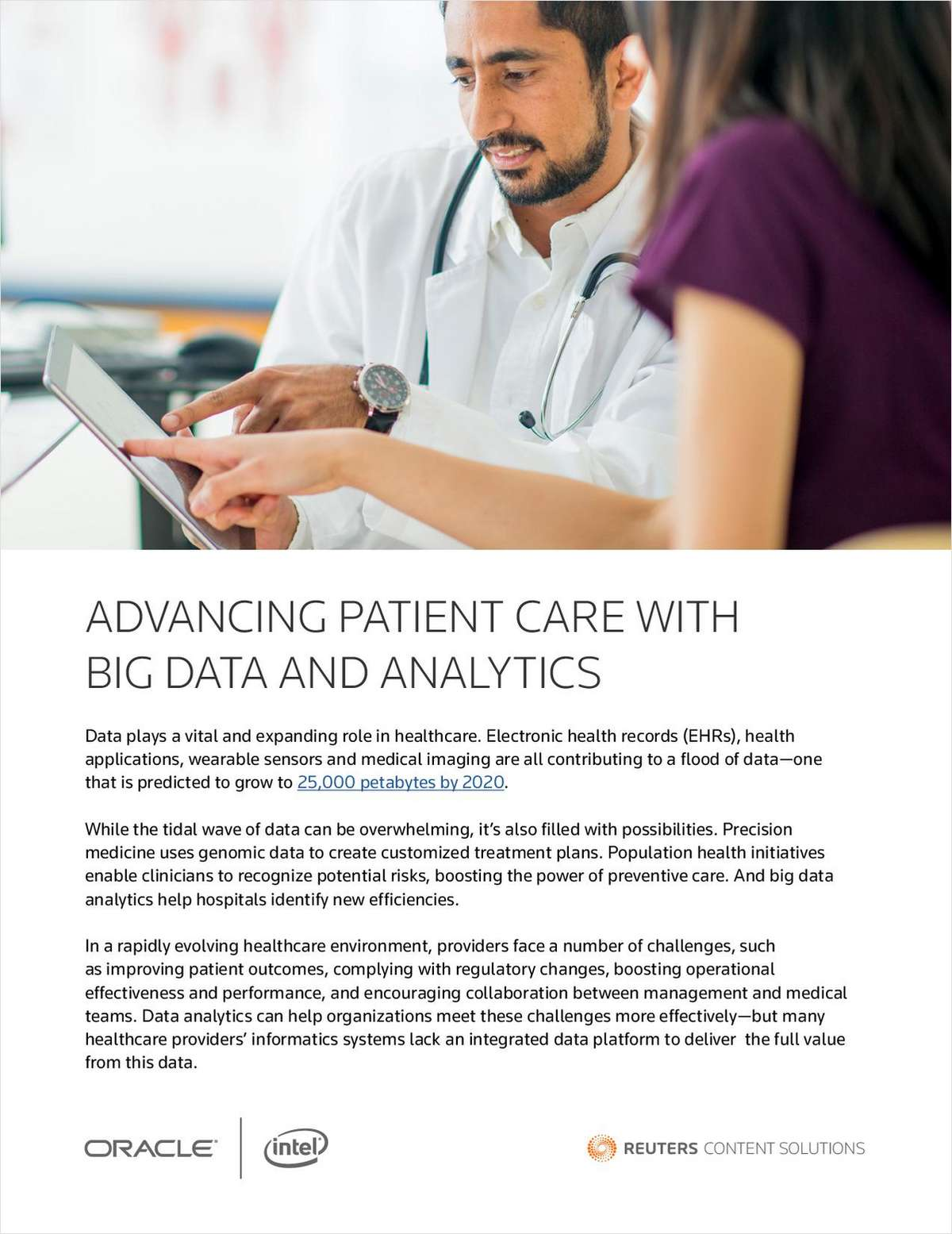Advancing Patient Care with Big Data and Analytics