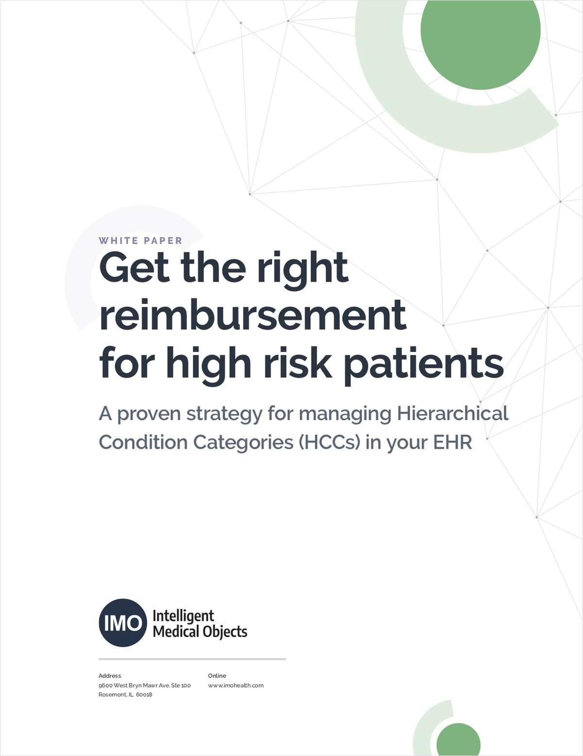 Get the right reimbursement for high-risk patients