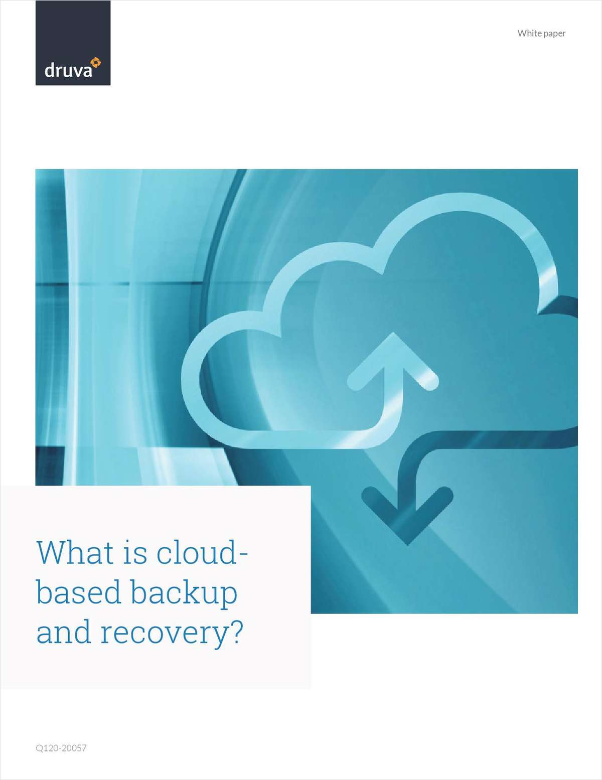 What is cloudbased backup and recovery?