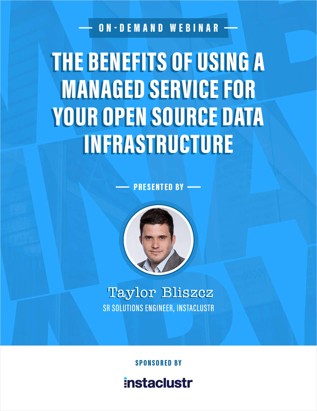 The benefits of using a managed service for your open source data infrastructure