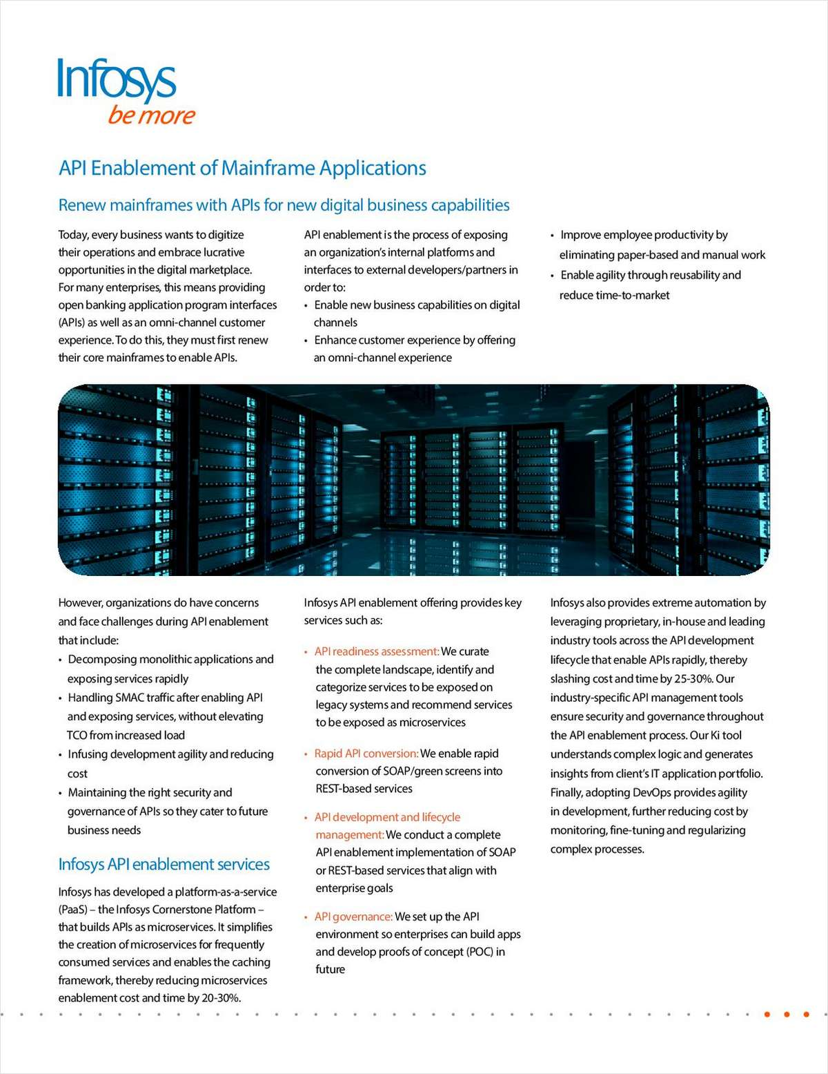 API Enablement of Mainframe Applications