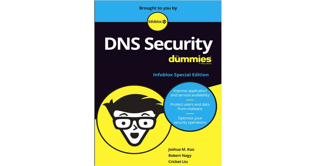 Dns Security For Dummies Free Infoblox Inc Ebook