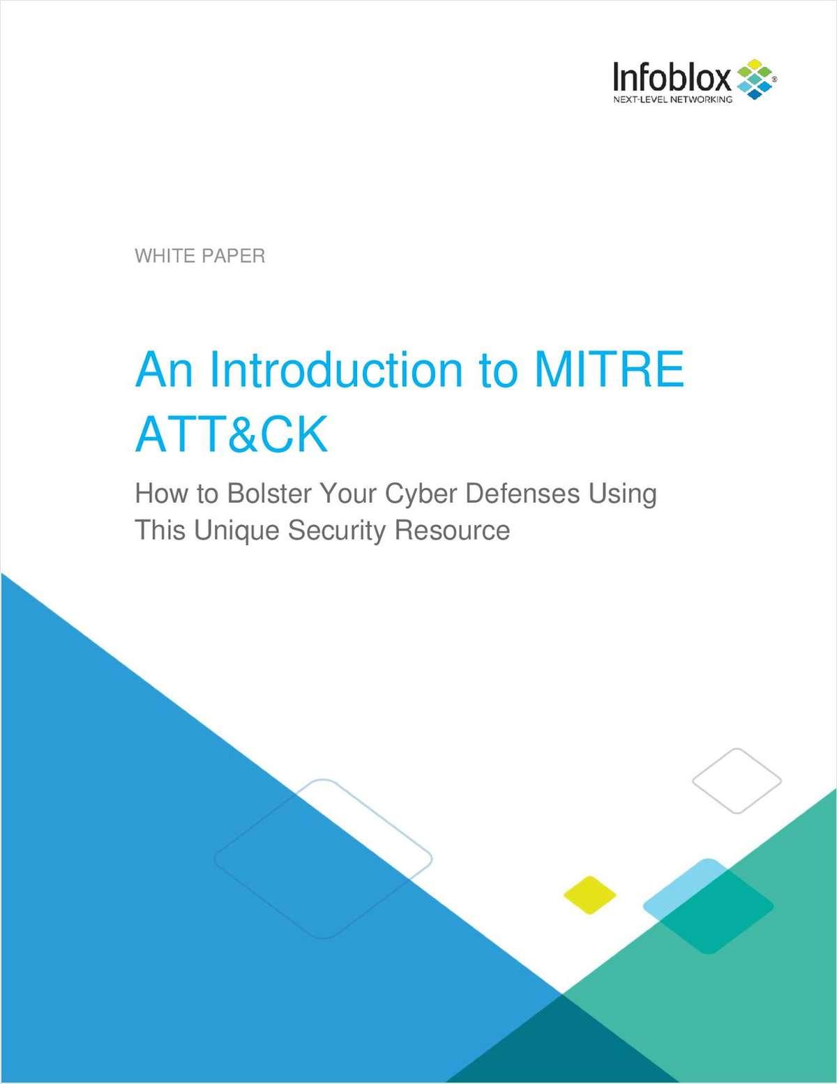 An Introduction to MITRE ATT&CK