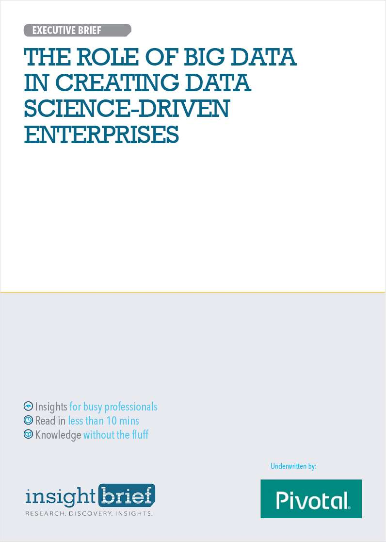 The Role of Big Data in Creating Data Science-Driven Enterprises