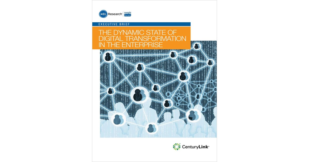 The Dynamic State of Digital Transformation in the Enterprise, Free