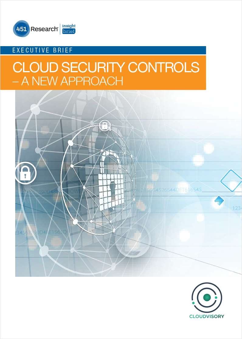Cloud Security Controls - A New Approach