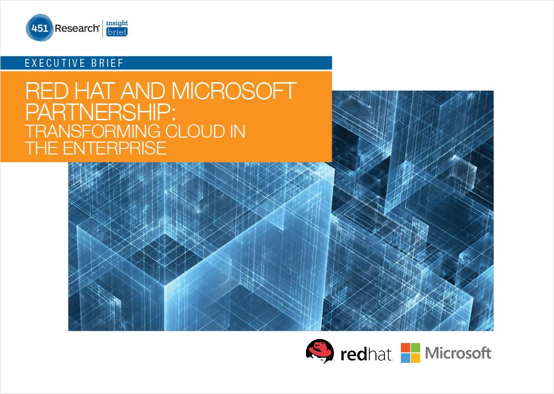 Red Hat and Microsoft Partnership: Transforming Cloud in the Enterprise