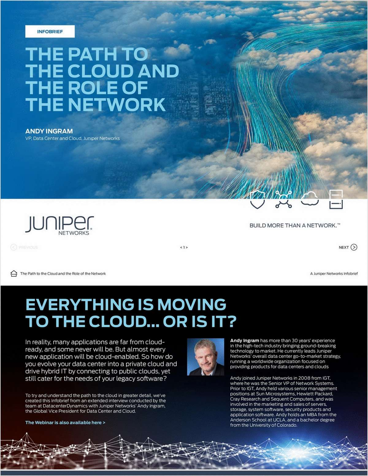 Infobrief: The Path To The Cloud And The Role Of The Network