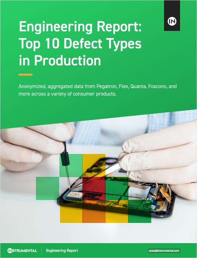 Top 10 Defect Types in Production
