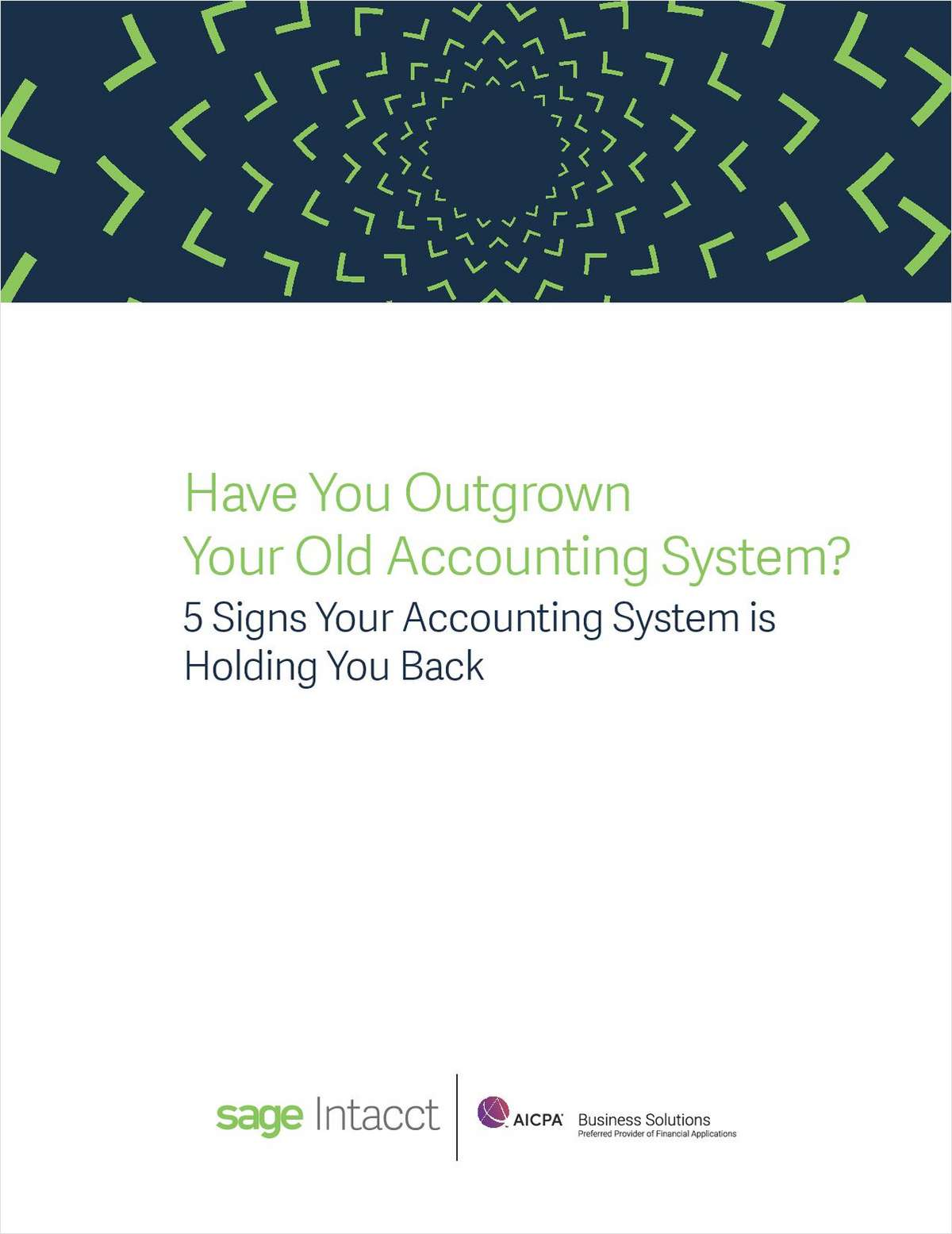 Have You Outgrown Your Old Accounting System?