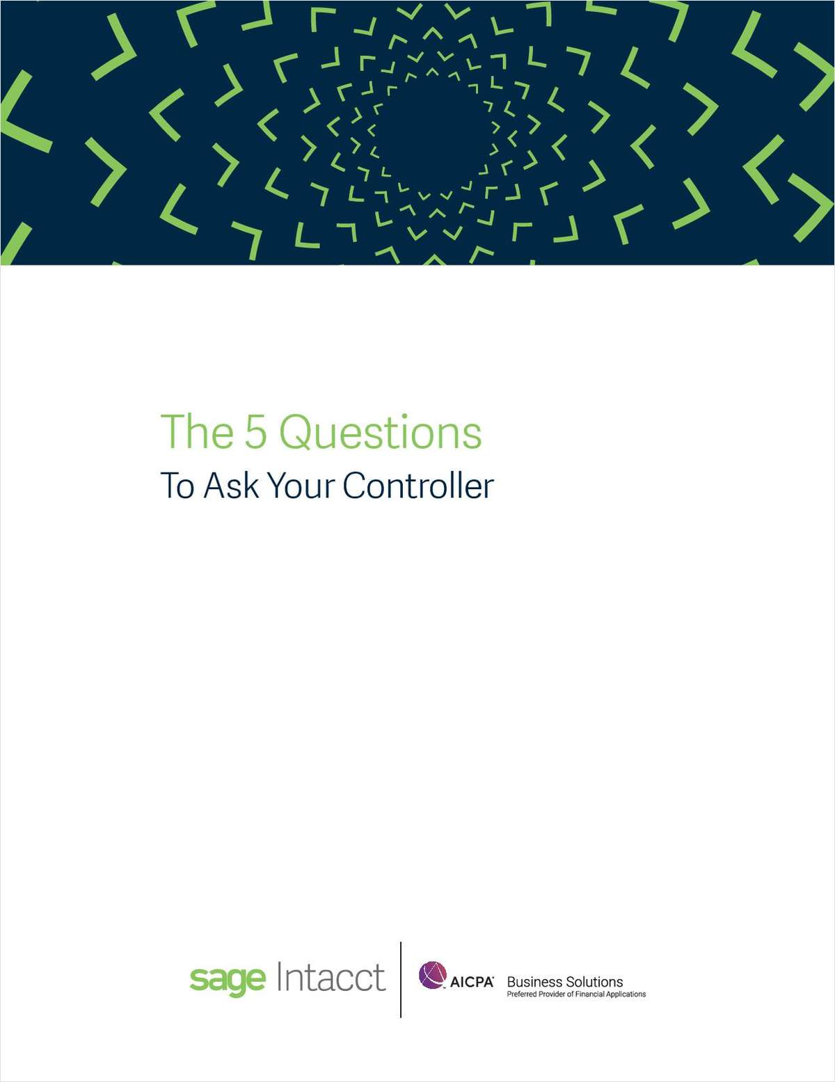 The 5 Questions to Ask Your Controller