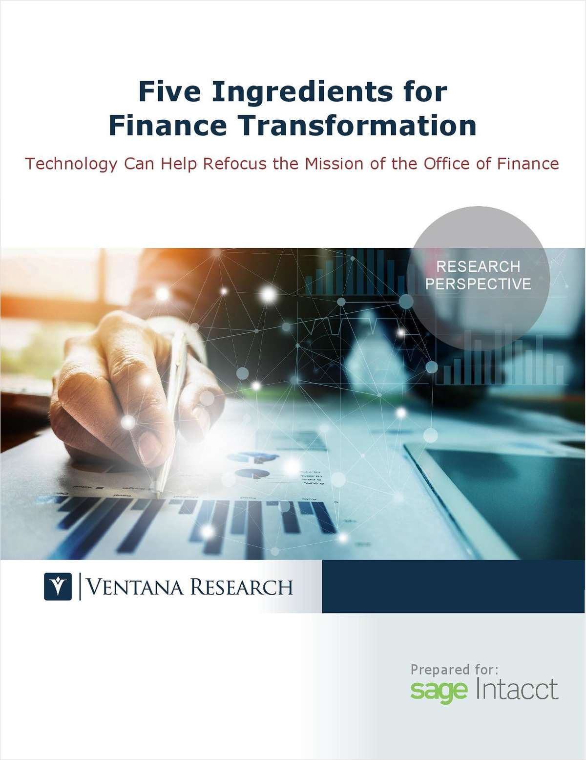 Five Ingredients for Finance Transformation