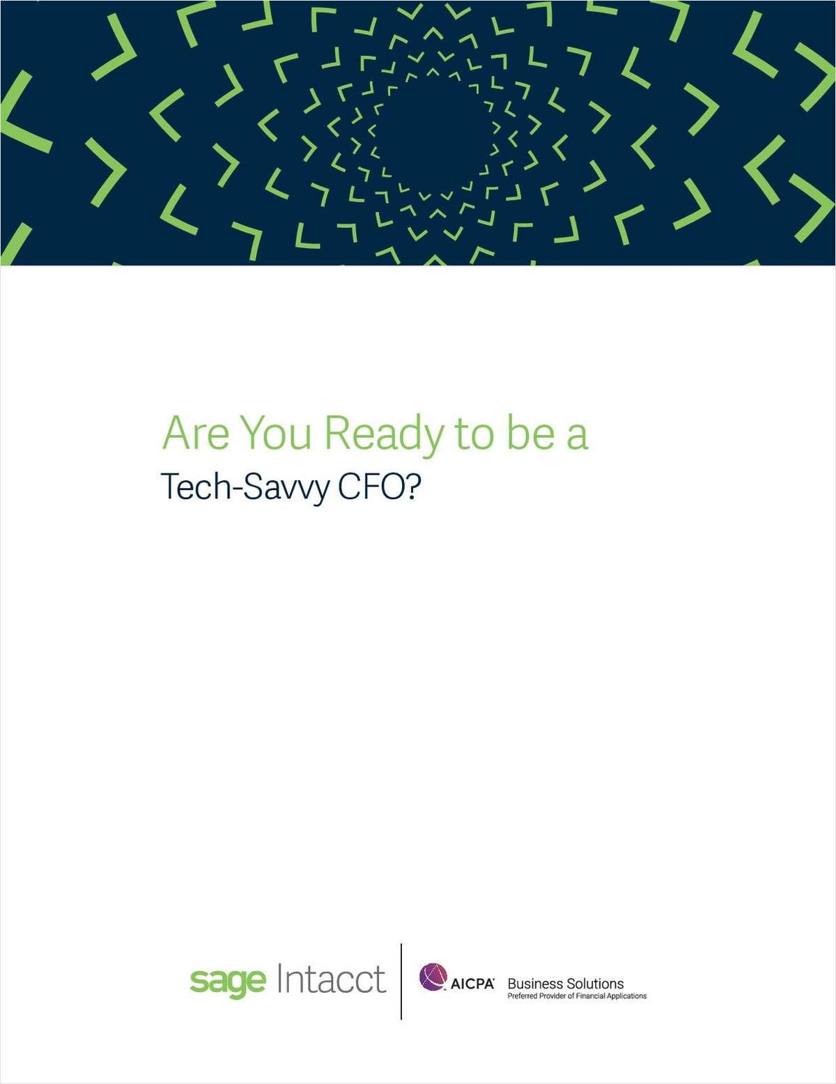 Are You Ready to be a Tech-Savvy CFO?