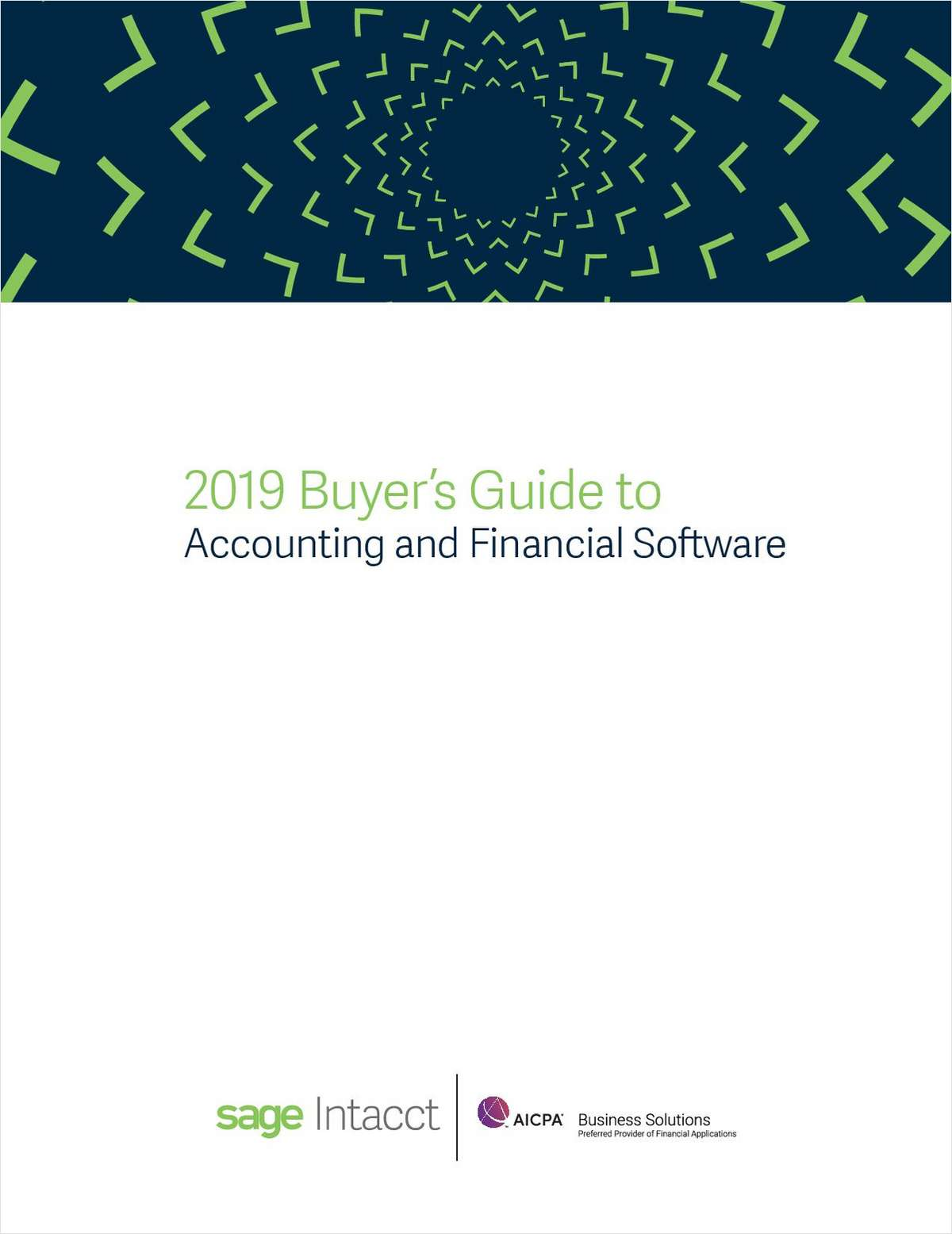 2019 Buyer's Guide to Accounting and Financial Software