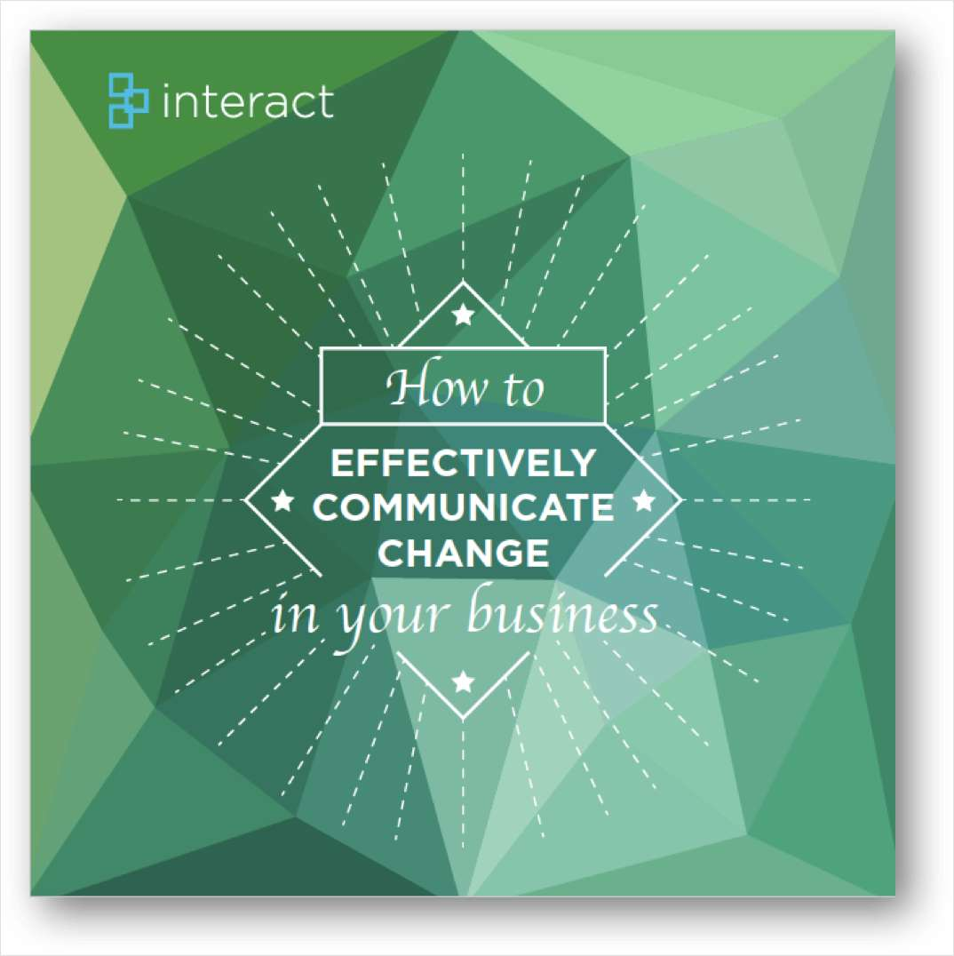 How to effectively communicate change in your business