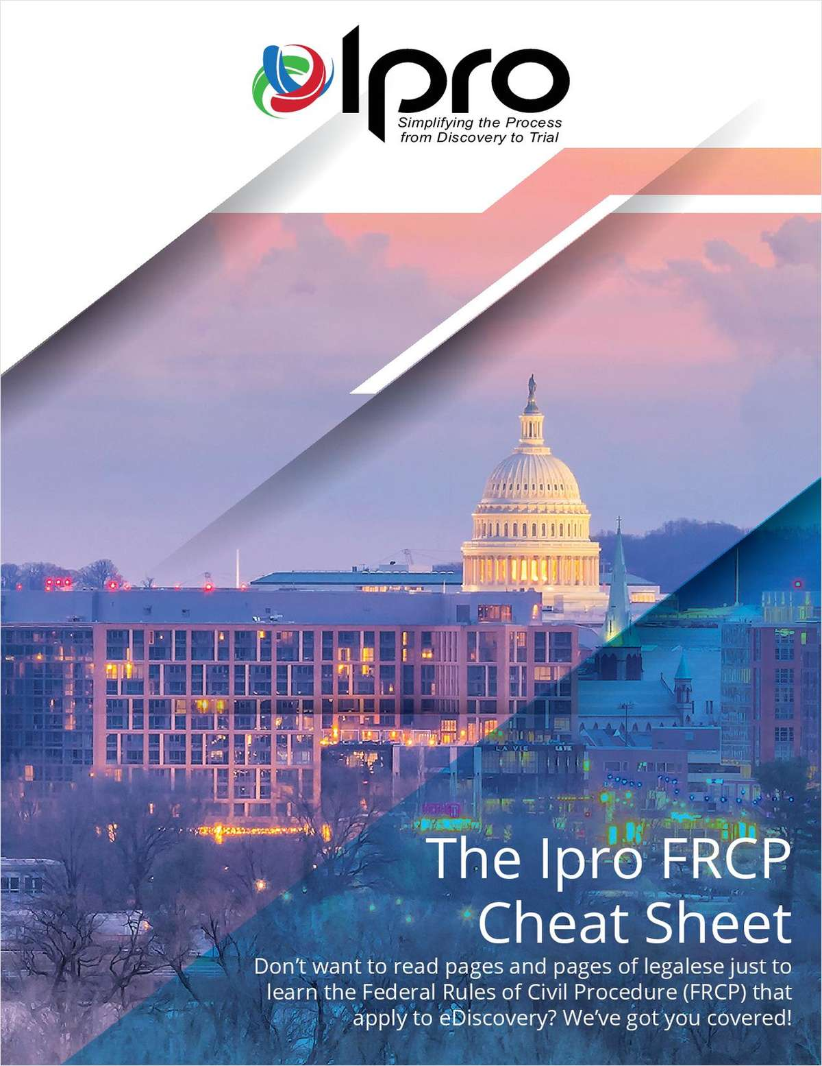 FRCP Cheat Sheet - A Quick eDiscovery Rule Overview