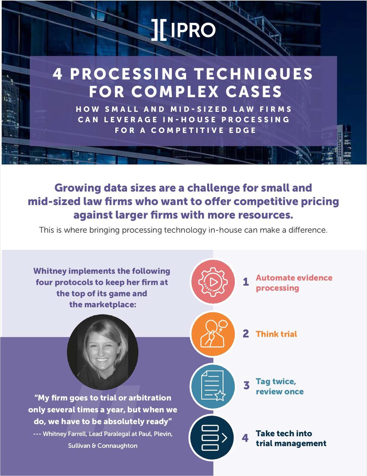4 Processing Techniques for Complex Cases - How Small and Mid-sized Firms Can Excel