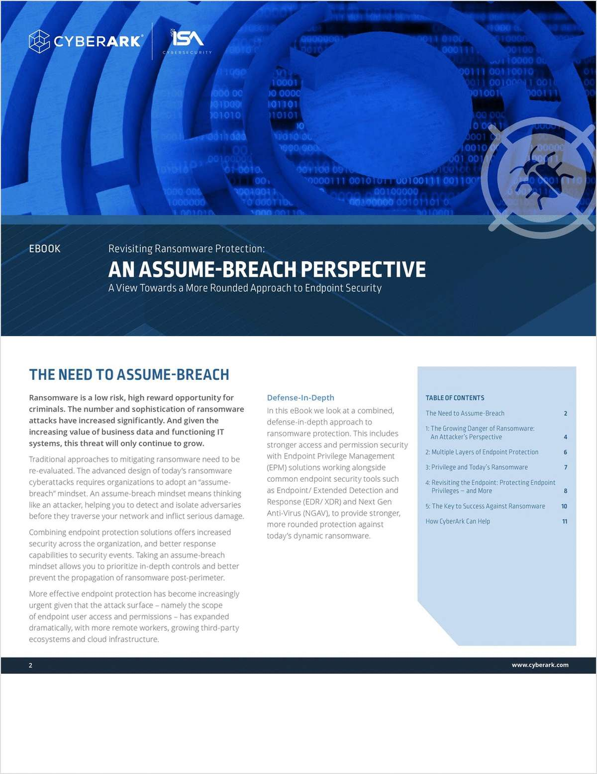 Revisiting Ransomware Protection: An Assume-Breach Perspective