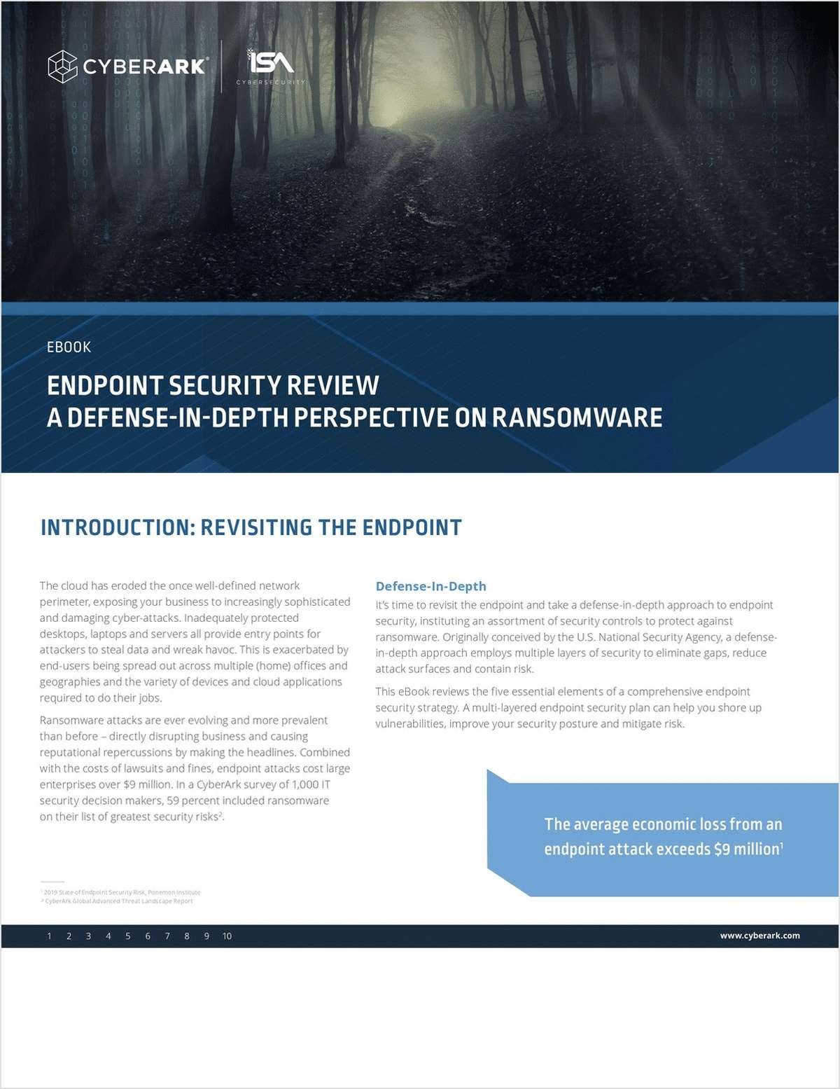 Endpoint Security Revisited: A Defense-in-Depth Perspective On Ransomware