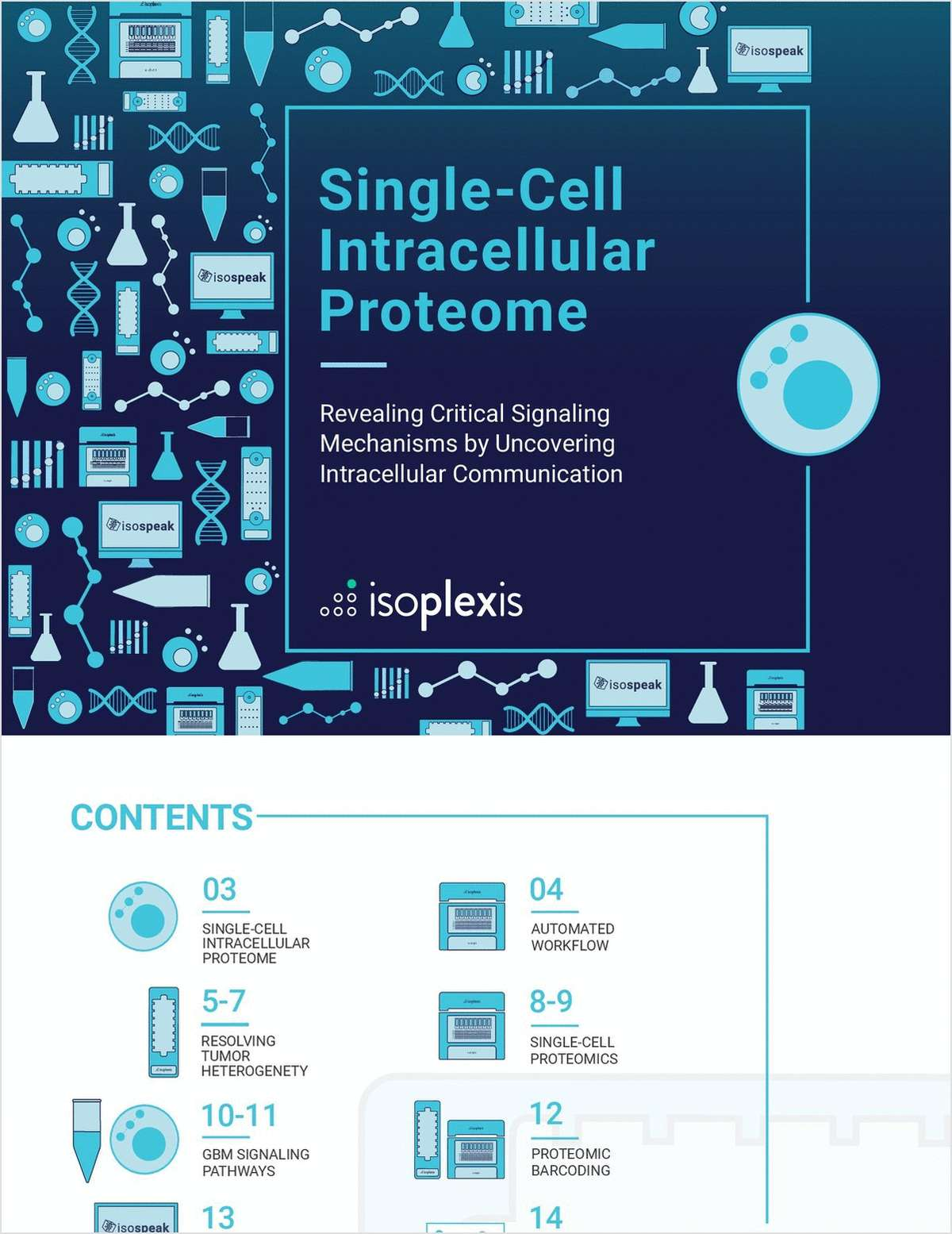 Single-Cell Intracellular Proteome