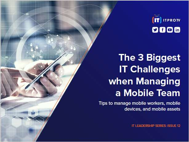 The 3 Biggest IT Challenges when Managing a Mobile Team