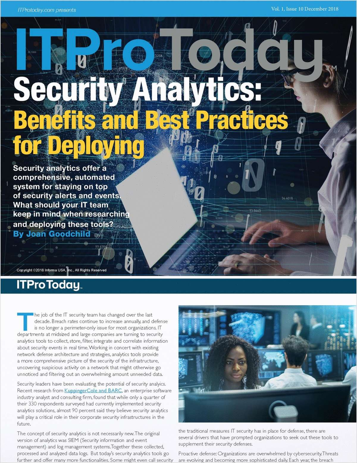 Security Analytics: Benefits and Best Practices for Deploying