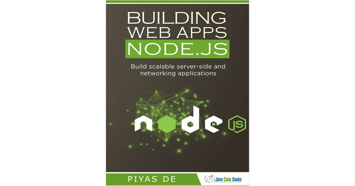 Building Web Apps with Node js Free eBook
