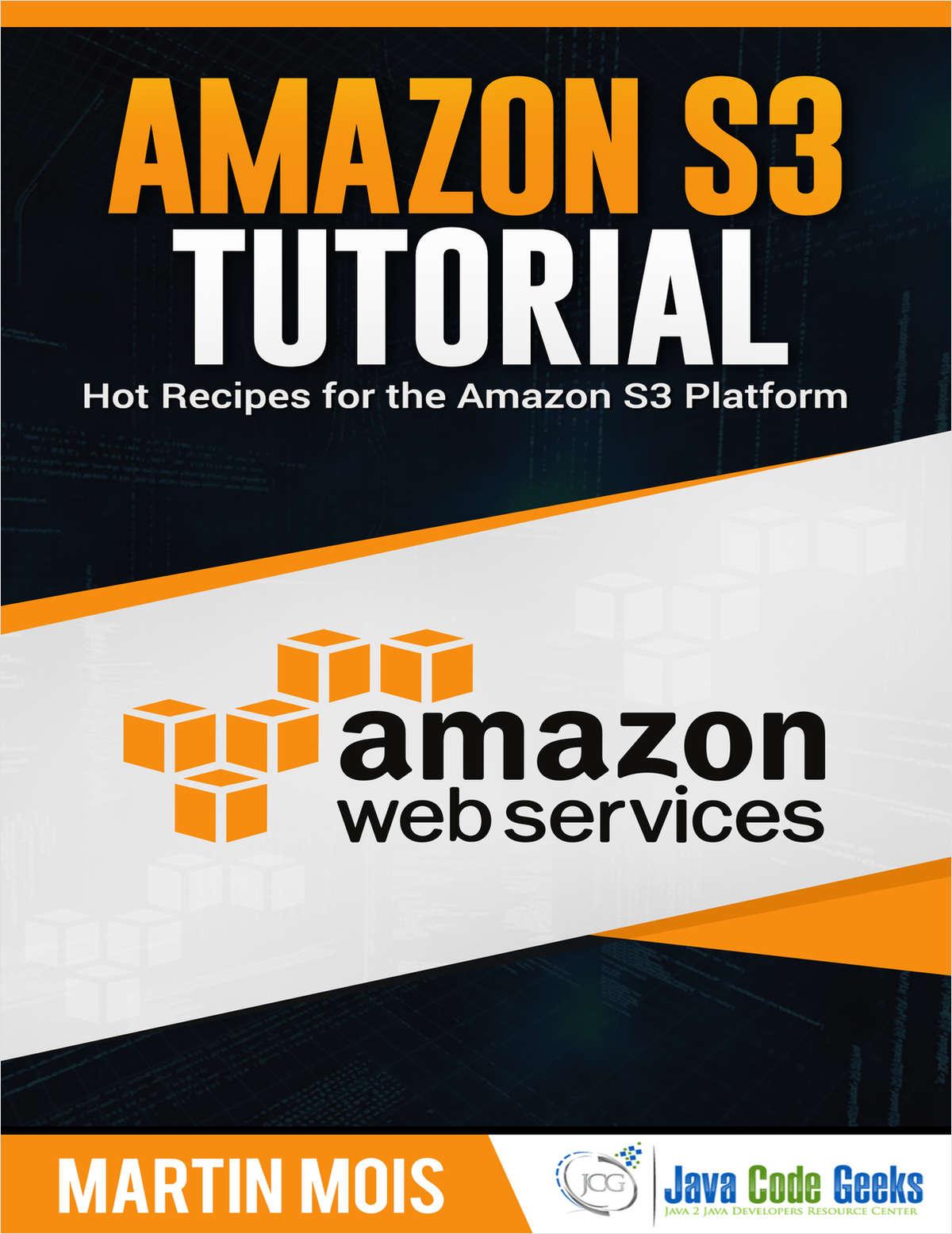 Amazon S3 Tutorial