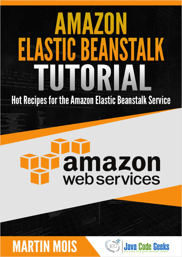Amazon Elastic Beanstalk Tutorial