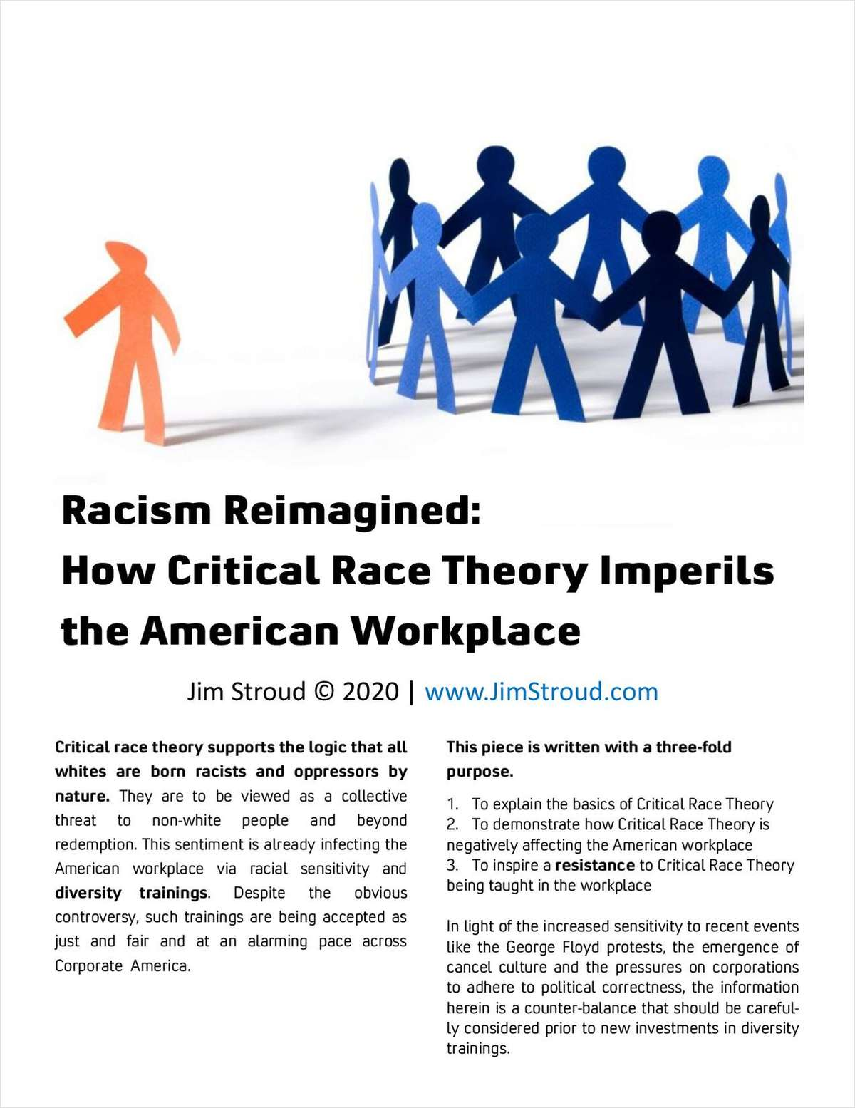 Racism Reimagined: How Critical Race Theory Imperils the American Workplace