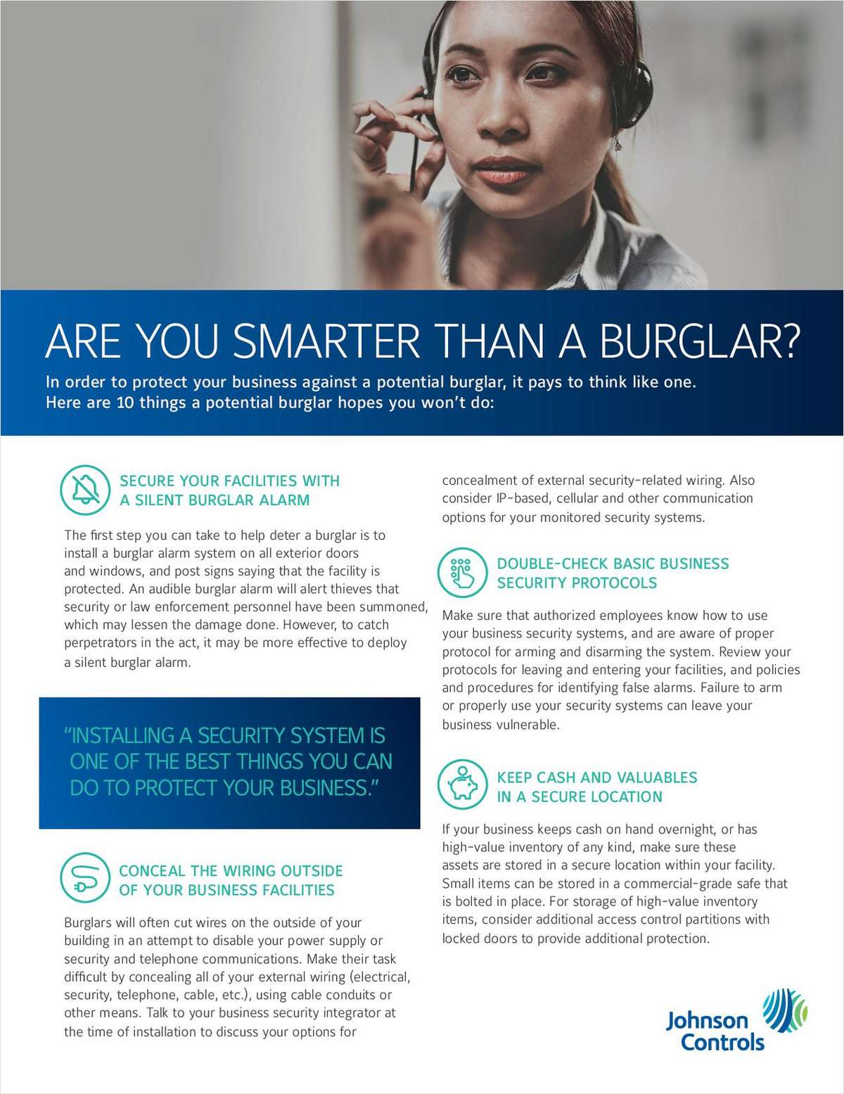 Discover 10 ways to prevent theft