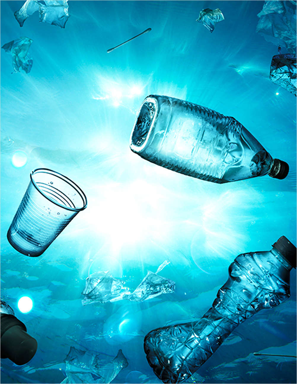 Global Plastic Pollution and Potential Solutions Across the Value Chain