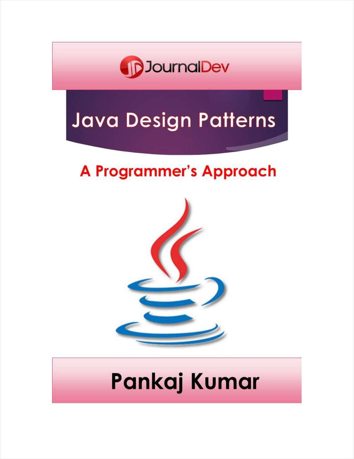Java Design Patterns - A Programmers Approach