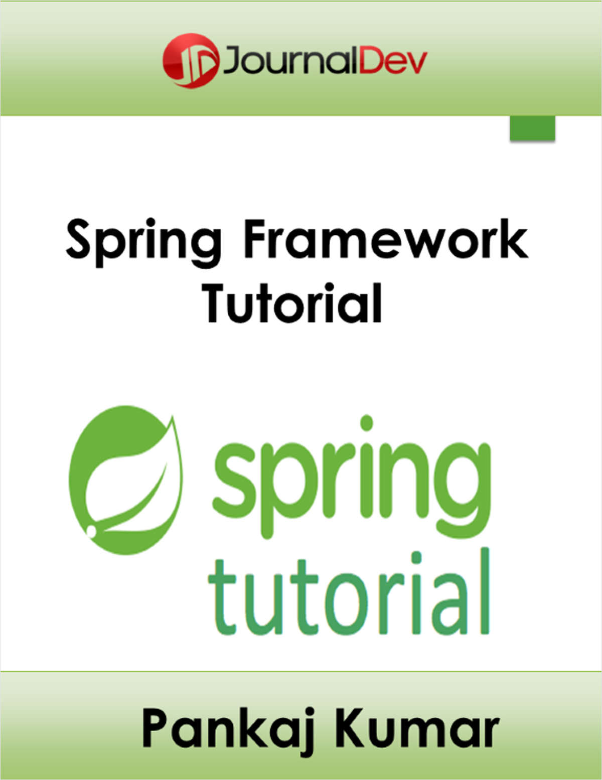 Java ee spring framework tutorial free ebook java ee spring framework tutorial baditri Choice Image