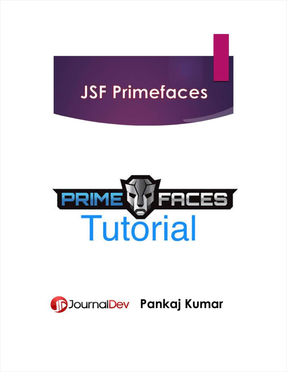 JSF Primefaces Tutorial Cookbook