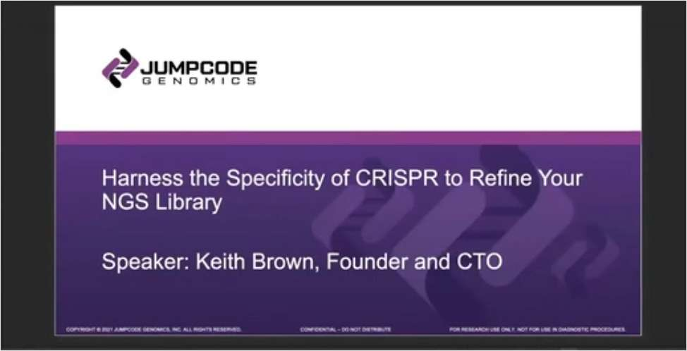 Harness the Specificity of CRISPR to Refine NGS Libraries