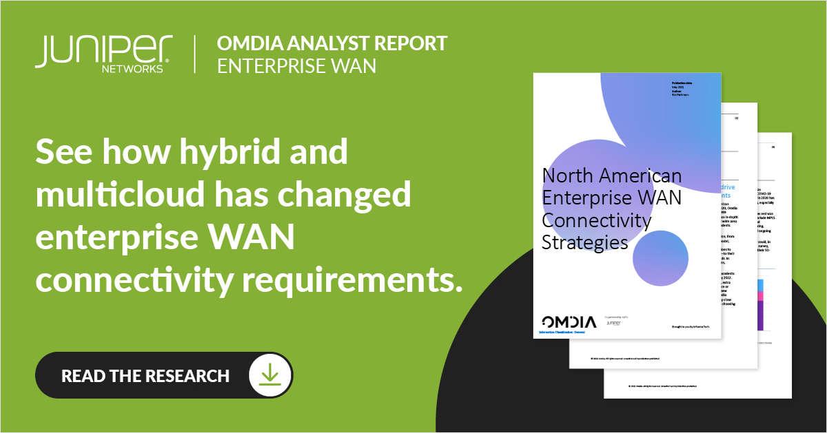 North American Enterprise WAN Connectivity Strategies