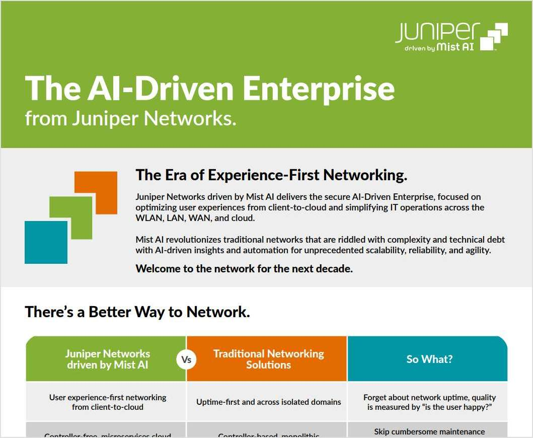 Discover The AI-Driven Enterprise From Juniper Networks