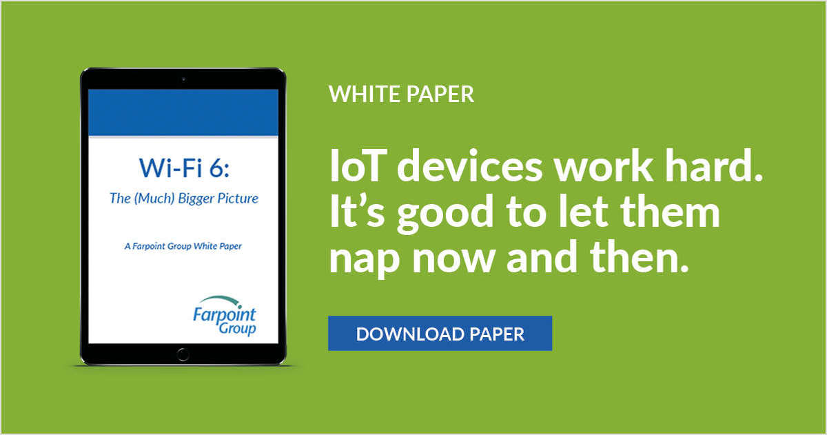 Get the Farpoint white paper on Wi-Fi 6