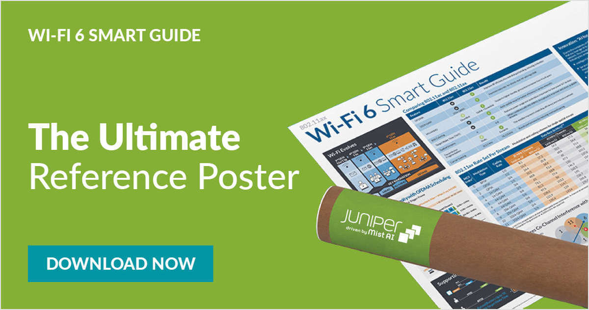 Get your free Wi-Fi 6 Smart Guide